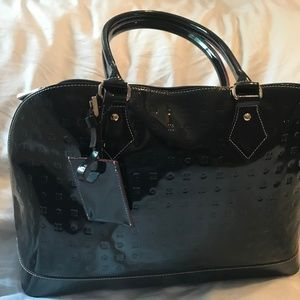 Arcadia Dark Blue Large Shoulder Bag